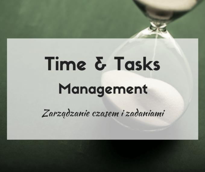zarządzanie czasem i zadaniami
